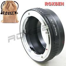 Konica ar mount objectif Canon EOS M M2 EF-m mount compacts caméra adaptateur M3 M10