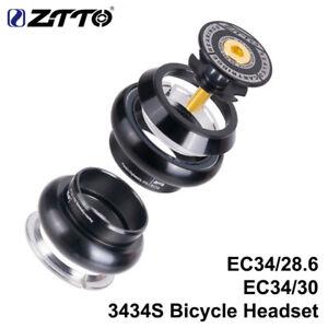 ZTTO 1pk 3434S MTB Road Bike Threadless Headset CNC 34mm1-1/8 Threadless Headset