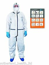 GV Health Containment Full Personal Protective Equipment (PPE). Cat 3 Coverall