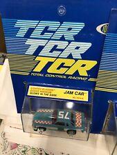 1978 Ideal TCR Slotless Slot Car Racing Car lot 4 cars MOC & original shipper
