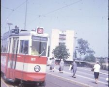 Lot of 8 35mm Slides- 1970  Germany Trams and Trains