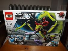 LEGO GALAXY SQUAD, STAR SLICER, KIT #70703, 311 PIECES, NIB, 2013