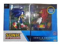 Sonic The Hedgehog and Knuckles 4-inch Face off Action Figures Collectible Toy