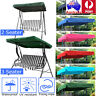 Garden Hammock Swing Seat Canopy Cover 2&3 Seater Outdoor Patio Replacement