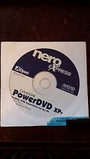 CyberLink PowerDVD XP 4.0  NERO eXpress Collectible