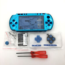 Blue Replacement Shell Housing Buttons screwdriver Full Kits For Sony PSP 3000