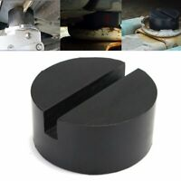 Universal Rubber Car Truck Frame Rail Hydraulic Jack Lift Disk Pad Adapter 75MM
