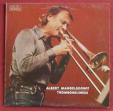 ALBERT MANGELSDORFF  LP ORIG CAN  TROMBONELINESS