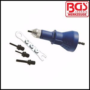 BGS - Nutsert Power Drill Attachment - M3, M4, M5, M6 - 407