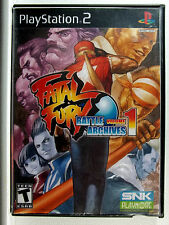 Fatal Fury 1 (PS2) Game & Generic Cover Art Only - Clean,Tested & Fast Shipping