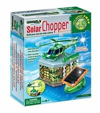 Build Your Own Solar Chopper Science Kids Educational Learning Toy Helicopter