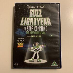 Buzz Lightyear Of Star Command (DVD, 2000) Tim Allen Region 4&2