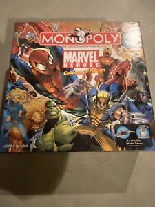 Marvel Heroes Collector's Edition Monopoly