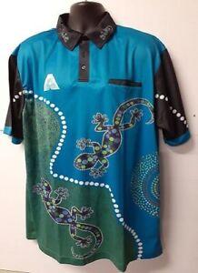 Indigenous Design Blue Unisex Bowls Shirt