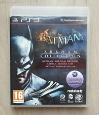 Batman Arkham Collection Trilogy - Sony Playstation 3 PS3 - Complet - FRA - TBE