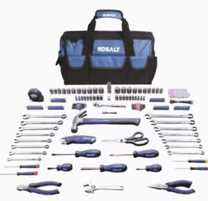 ✅ NEW Kobalt 267-Piece Household Tool Set with Soft Case