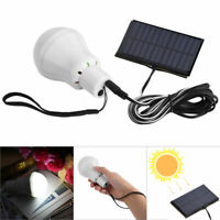 Solaire Puissance LED Ampoule S'allume Lampe Rechargeable Outdoor Camping Tente