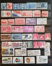 AIRMAIL 42 Different Used Stamp Lot BOB F611