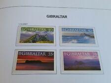GIBRALTAR 2007 SG 1236-1239 PANORAMIC VIEWS  MNH