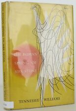 TENNESSEE WILLIAMS The Roman Spring of Mrs. Stone INSCRIBED FIRST EDITION