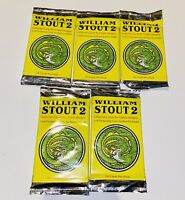 William Stout 2 collector cards by Comic Images fantasy dinosaurs 5 Unopened Pks