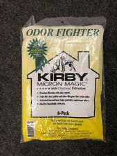 Kirby Odor Fighter Charcoal Vacuum Bags Universal Style All Kirby 6-Pack 202816