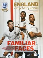 ENGLAND V REPUBLIC OF IRELAND 2012/13