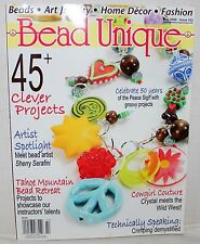 BEAD UNIQUE Magazine Fall 2009 NEW 45+ Clever Projects Artist Spotlight Crystals