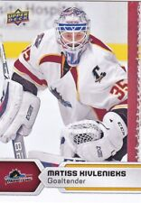 MATISS KIVLENIEKS 2017-18 17-18 UPPER DECK AHL HOCKEY BASE #22 CLEVELAND MONSTER
