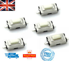 x5 KEY FOB MICROSWITCH REPAIR 3X6X2.5mm Fits ROVER MG Peugeot MICRO SWITCHES