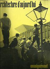 L'ARCHITECTURE D'AUJOURD'HUI _ RIVISTA _FEBB-MARZO 1961_ ARCHITETTURA SCOLASTICA