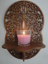 Wooden Shelf Religious Design