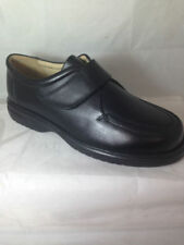 100% Leather Wide (E) Round Formal Shoes for Men