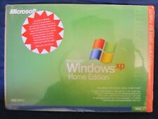MICROSOFT WINDOWS XP HOME EDITION HEBREW SEALED CD WITH KEY FOR COLLECTORS
