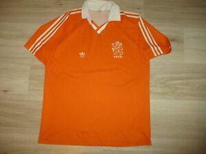 ADIDAS rare HOLLAND shirt 1990 vintage oldschool trikot camiseta NETHERLANDS