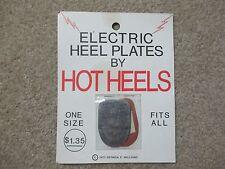 VINTAGE SHOE HEEL PLATES COPPER & ZINC FOOT PAIN HOME REMEDY 1973 ELECTRIC HEELS