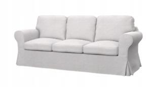*New Original IKEA cover set for Ektorp 3 seat sofa FRESVIK NATURAL WHITE/CREAM