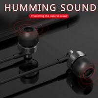 3.5mm Stereo In-ear Headphones Earbud Headset Earphones for Huawei Xiaomi Apple