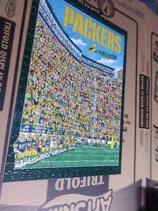 VINTAGE 1994 NFL Green Bay Packers Jigsaw Puzzle John Holladay FANDEMONIUM