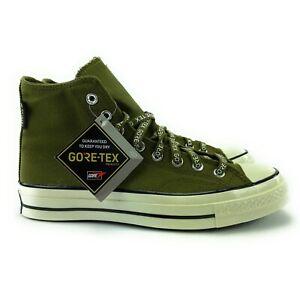 Converse Men's Chuck Taylor All Star 70 GTX HI Dark Moss Shoes 168859C Size 8