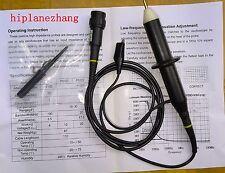 High Voltage 4KV 4000V Oscilloscope Passive Clip Probe 100MHz 100X BNC P5100