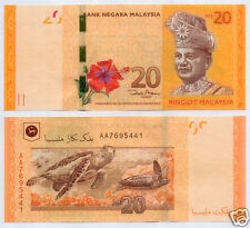 Malaysia $20 Ringgit 2012 Banknote Paper Currency Note Money (UNC)