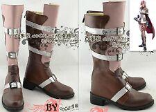 Cosplay Final Fantasy XIII LIGHTNING Schuhe Stiefel Boots aus PU Handarbeit