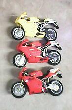 Lot of Three Ducati Testastretta SuperBikes push toys