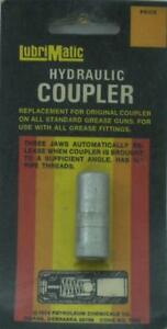 Lubrimatic 11802 Hydraulic Coupler for Grease Gun 18606