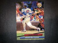 1992 FLEER ULTRA BASEBALL SAMMY SOSA #476 CHICAGO CUBS MLB CARD FREE SHIPPING