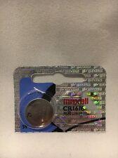 1 MAXELL HOLOGRAM CR1616 MICRO LITHIUM BATTERY USA SELLER FREE SHIPPING