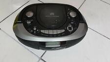 Tragbarer CD Radio Cassette Recorder Tape Deck Kassetten Spieler USB