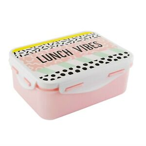 Memphis Modern Lunch Vibes Lunch Box - Sandwich Box