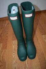 NEW Womens HUNTER Original Tall Rain Boots Hunter Green Sz US 6